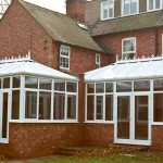 Hallmark Conservatories - PVC Bespoke Conservatories hipped roof design