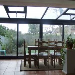PVC Lean-to Conservatory inside