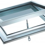 White Manual PVC Roof Vent
