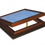 Rosewood Electric PVC Roof Vent