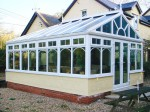 Sunburst gable roof conservatory