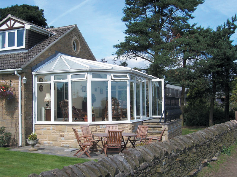 Pvc Lean To Conservatories Hallmark Conservatories