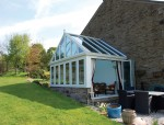 Hallmark PVC Gable Roof Conservatory with Bifold doors