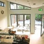 Light Green Contemporary Aluminium Sun Room